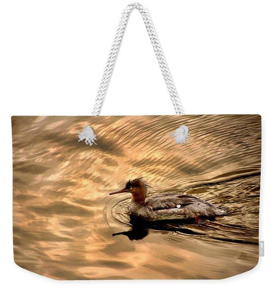 Morning Swim Weekender Tote Bag