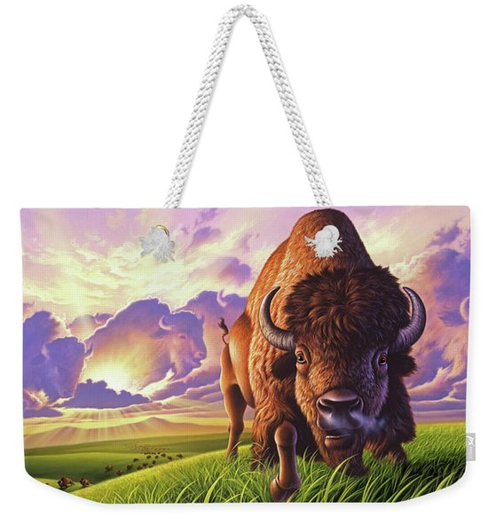 Morning Thunder Weekender Tote Bag