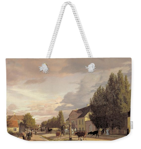 Morning View Of Osterbro Weekender Tote Bag