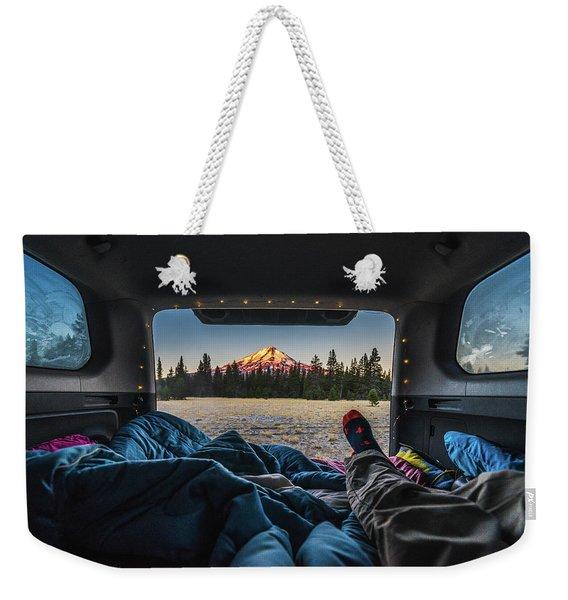 Morning Views Weekender Tote Bag