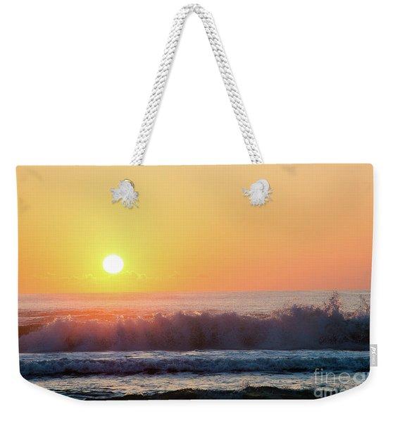 Morning Waves Weekender Tote Bag