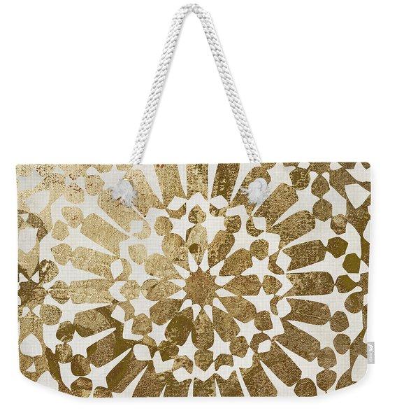 Moroccan Gold II Weekender Tote Bag
