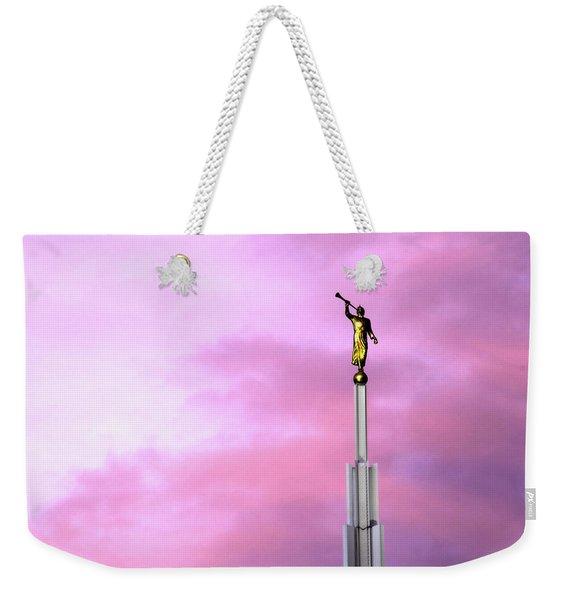 Moroni At Dawn Weekender Tote Bag