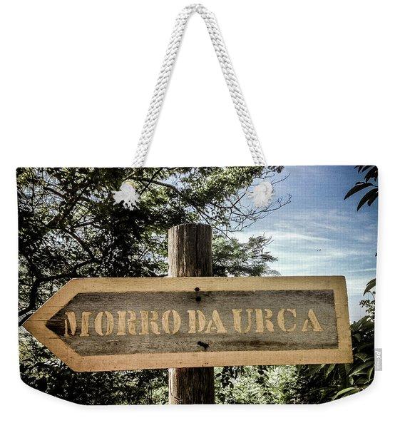Morro Da Urca Weekender Tote Bag