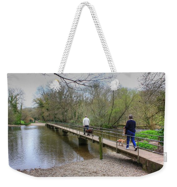 Morton Bridge Weekender Tote Bag