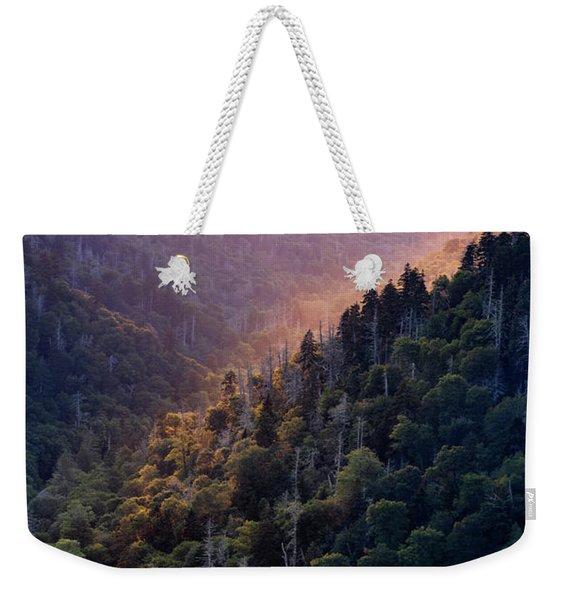 Morton Overlook Sunset Weekender Tote Bag