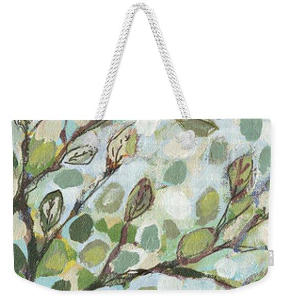 Mo's Chickadees Weekender Tote Bag