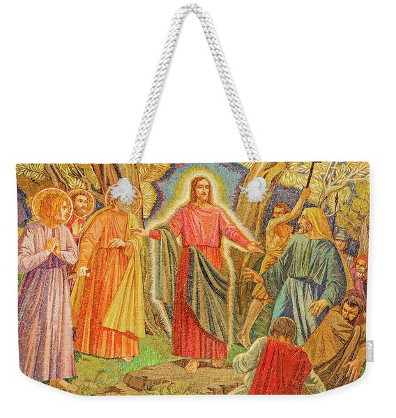 Mosaic Of Arresting Of Jesus Weekender Tote Bag