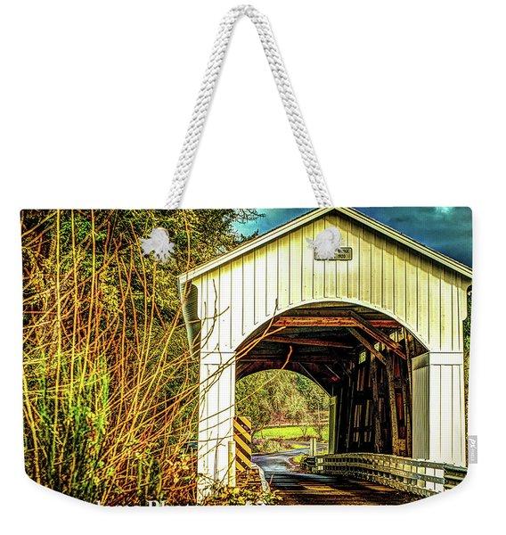 Mosby Creek Bridge Weekender Tote Bag