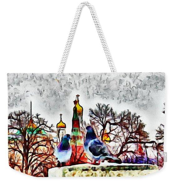Moscow Meet Weekender Tote Bag