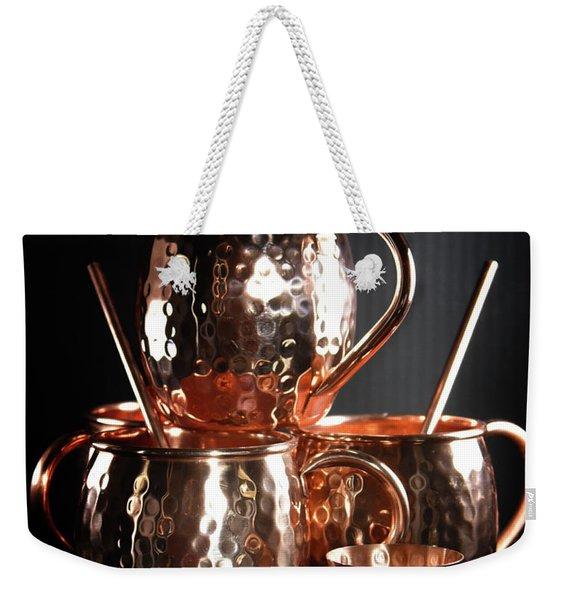 Moscow Mule Set Weekender Tote Bag