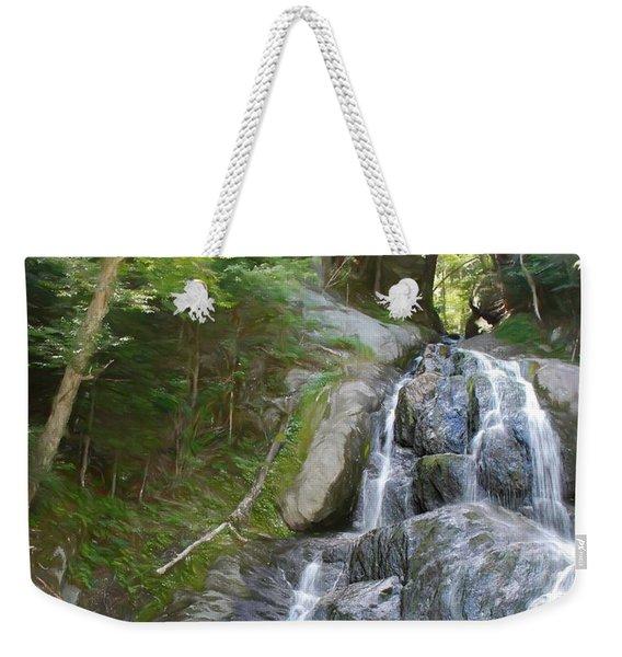 Mose Glenn Falls Granville Vt. Weekender Tote Bag