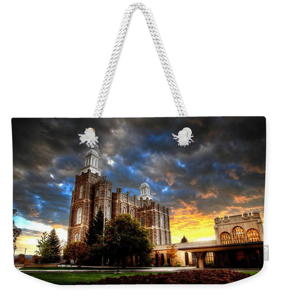 Moses Light Weekender Tote Bag