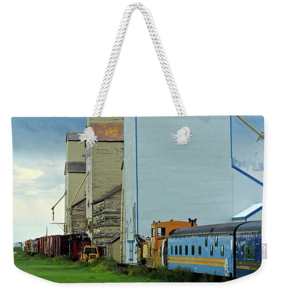 Mossleigh Elevators Weekender Tote Bag