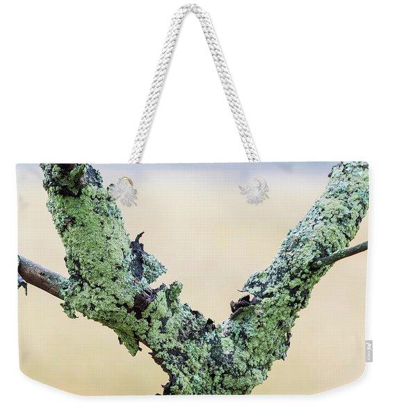 Mossy Branch Weekender Tote Bag