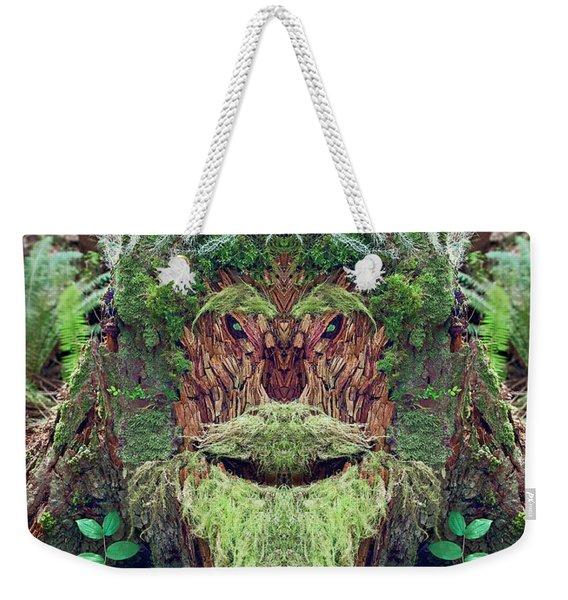 Mossman Tree Stump Weekender Tote Bag