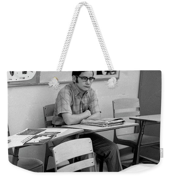 Most Scholarly Student, 1972 Weekender Tote Bag