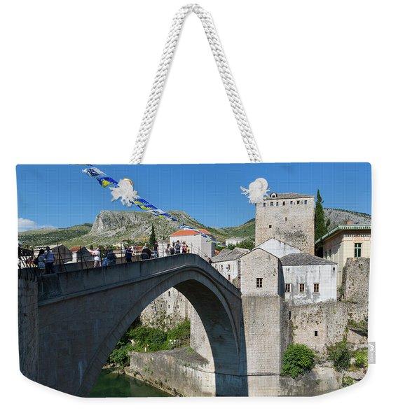 Mostar, Bosnia And Herzegovina Weekender Tote Bag