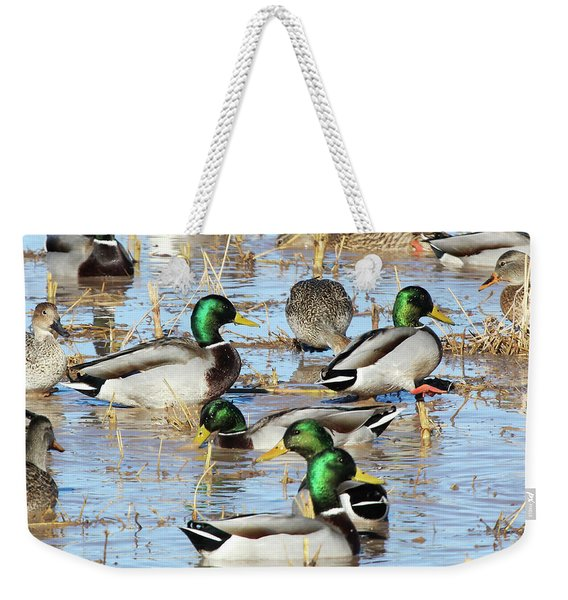 Mostly Mallards Weekender Tote Bag