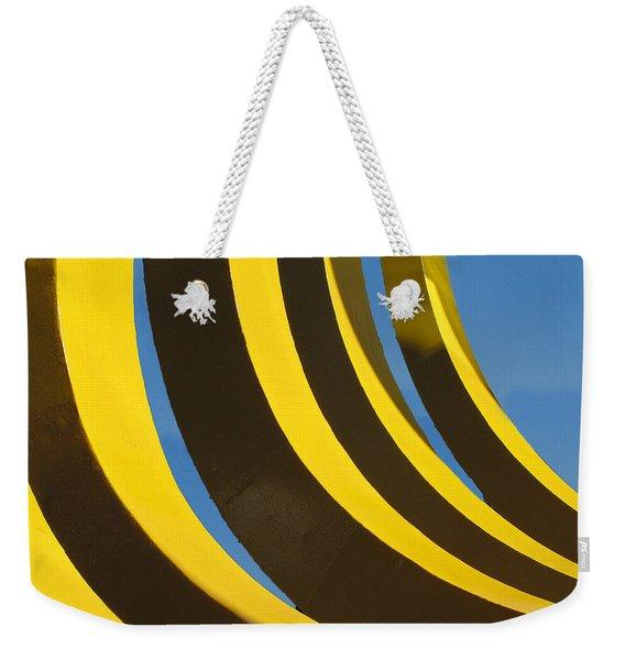 Mostly Parabolic Weekender Tote Bag