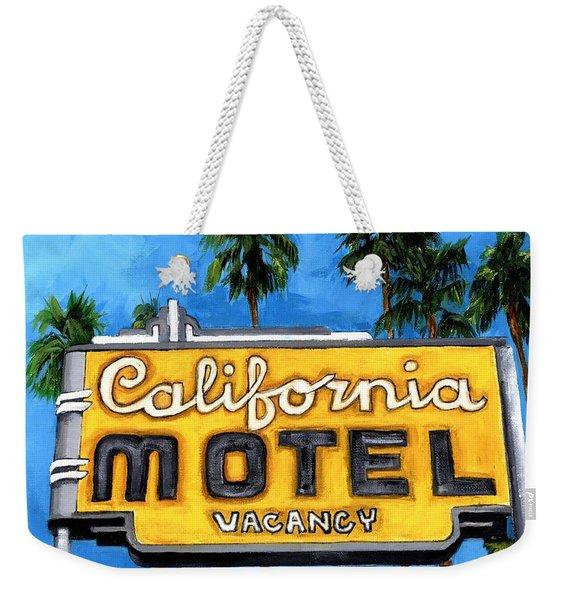 Motel California Weekender Tote Bag