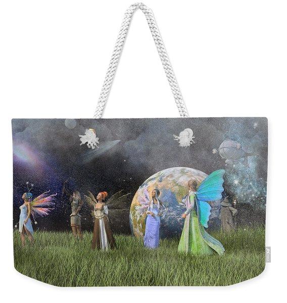Mother Earth Series Plate1 Weekender Tote Bag