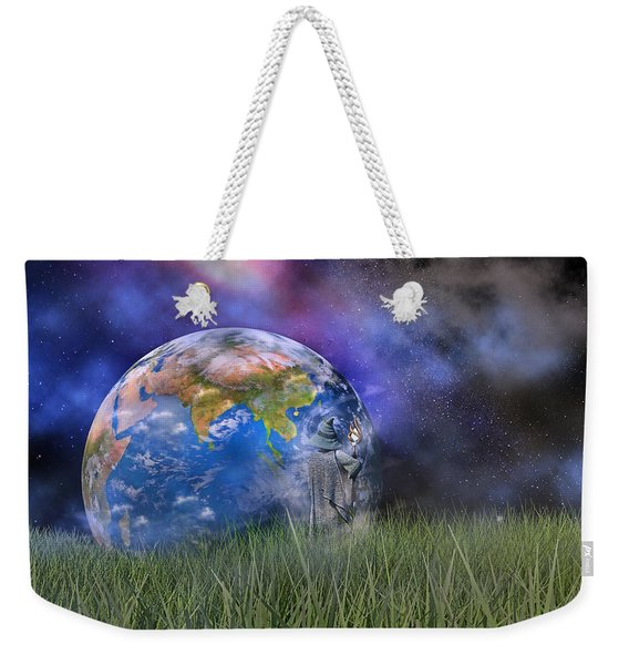 Mother Earth Series Plate4 Weekender Tote Bag