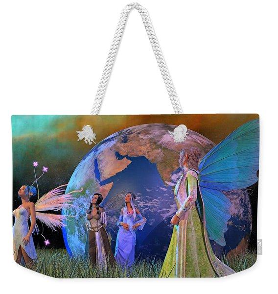 Mother Earth Series Plate5 Weekender Tote Bag