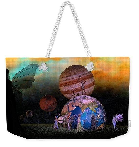 Mother Earth Series Plate6 Weekender Tote Bag