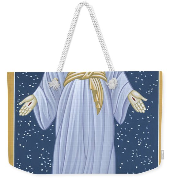 Mother Of God Of Akita- Our Lady Of The Snows 115 Weekender Tote Bag