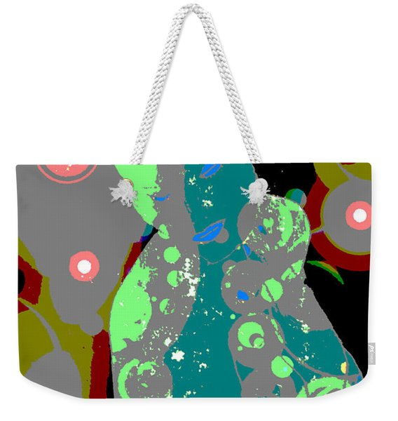 Mother Of Space Weekender Tote Bag