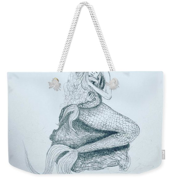 Motherhood Mermaid Weekender Tote Bag