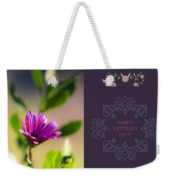 Mother's Day Flower Weekender Tote Bag