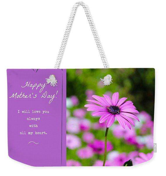 Mother's Day Love Weekender Tote Bag