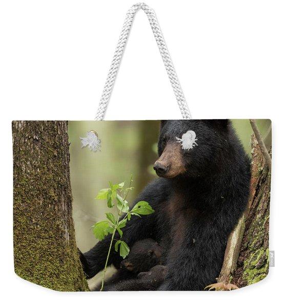 Mothers Loving Care Weekender Tote Bag