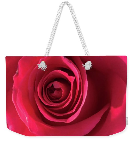 Mother's Rose Weekender Tote Bag