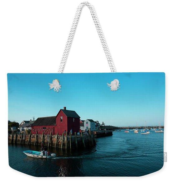 Motif Number 1 Closeup Weekender Tote Bag