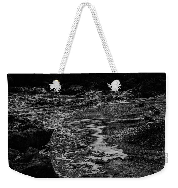 Motion In Black And White Weekender Tote Bag