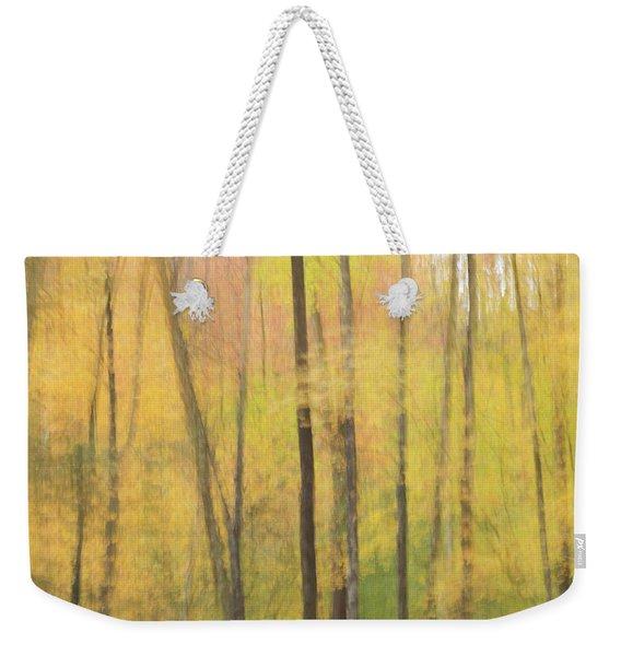Motion In Color Weekender Tote Bag