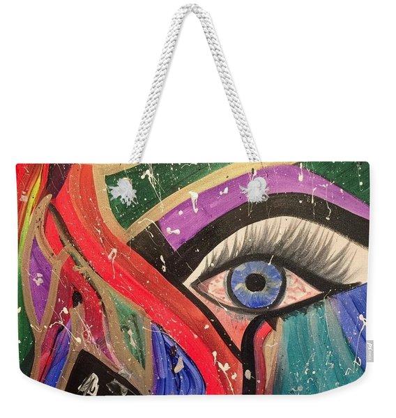 Motley Eye Weekender Tote Bag