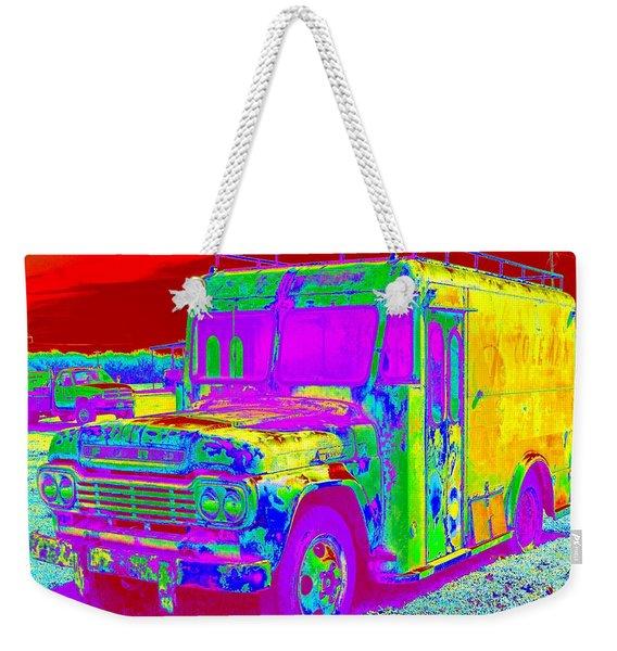 Motor City Pop #14 Weekender Tote Bag