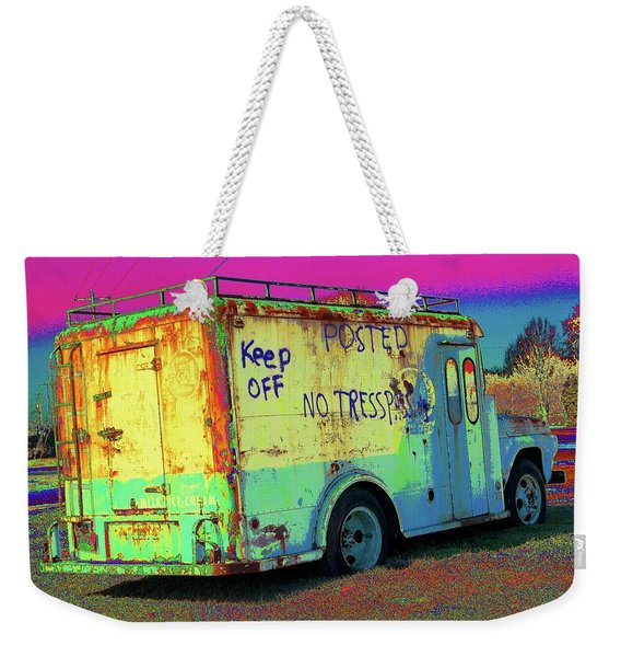 Motor City Pop #18 Weekender Tote Bag