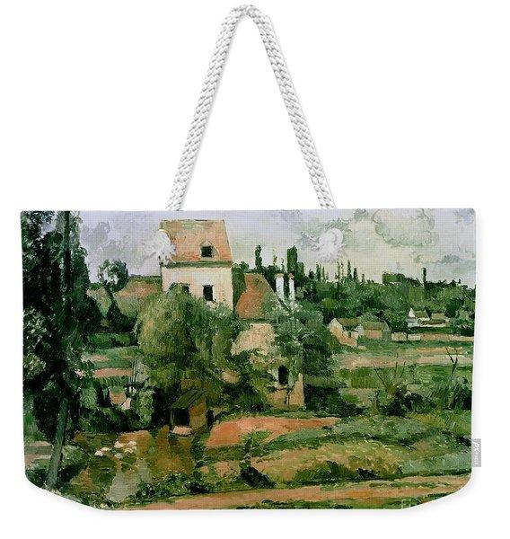 Moulin De La Couleuvre At Pontoise Weekender Tote Bag