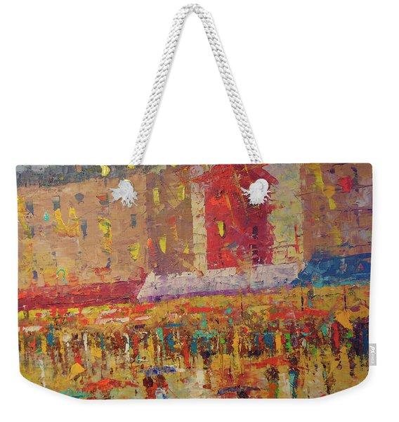 Moulin Rouge Paris Weekender Tote Bag