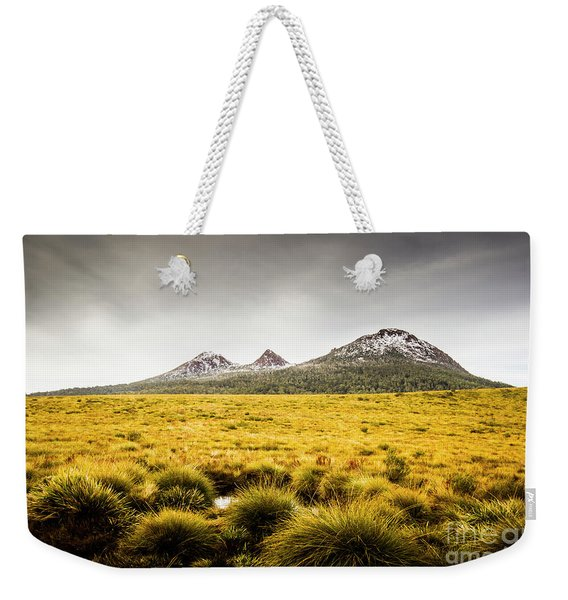 Mount Arrowsmith Tasmania Australia Weekender Tote Bag