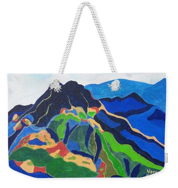 Mount Canigou Weekender Tote Bag