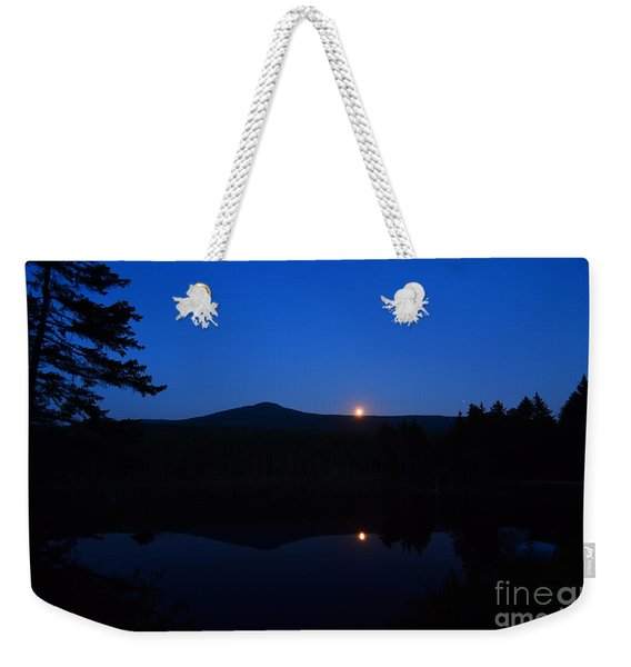 Mount Deception Moon Rise  Weekender Tote Bag