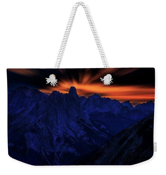 Mount Doom Weekender Tote Bag