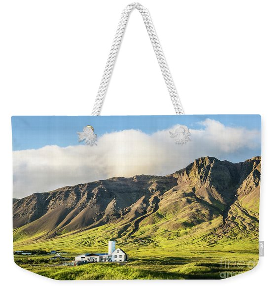 Mount Esjan Is Iceland Weekender Tote Bag