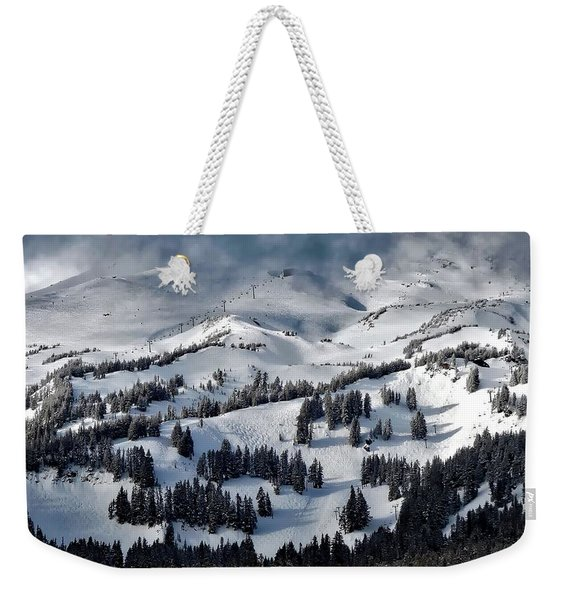 Mount Hood Meadows Weekender Tote Bag